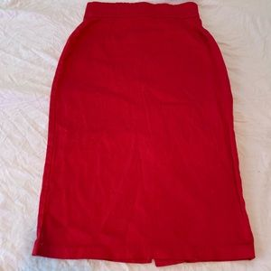 PinUp Couture XS Pencil Skirt Red